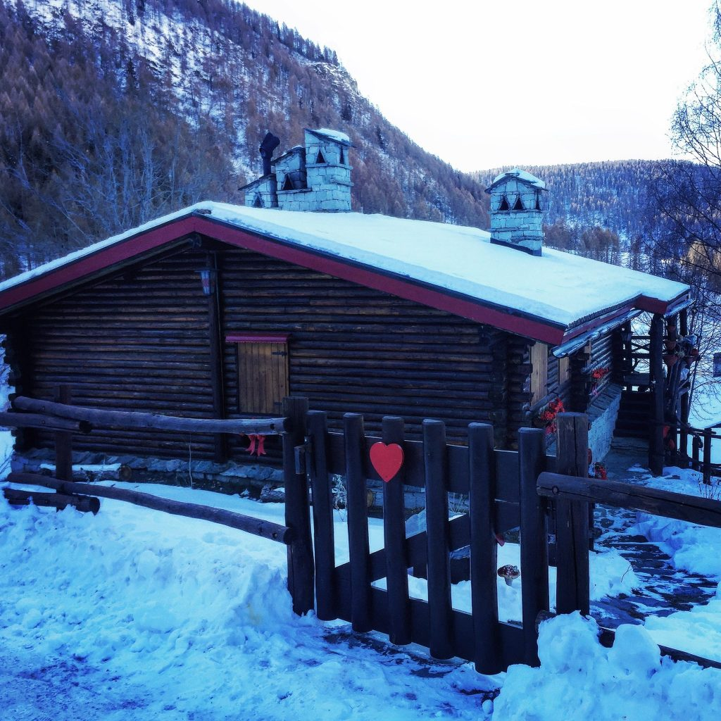 casa in legno weekend montagna chamois