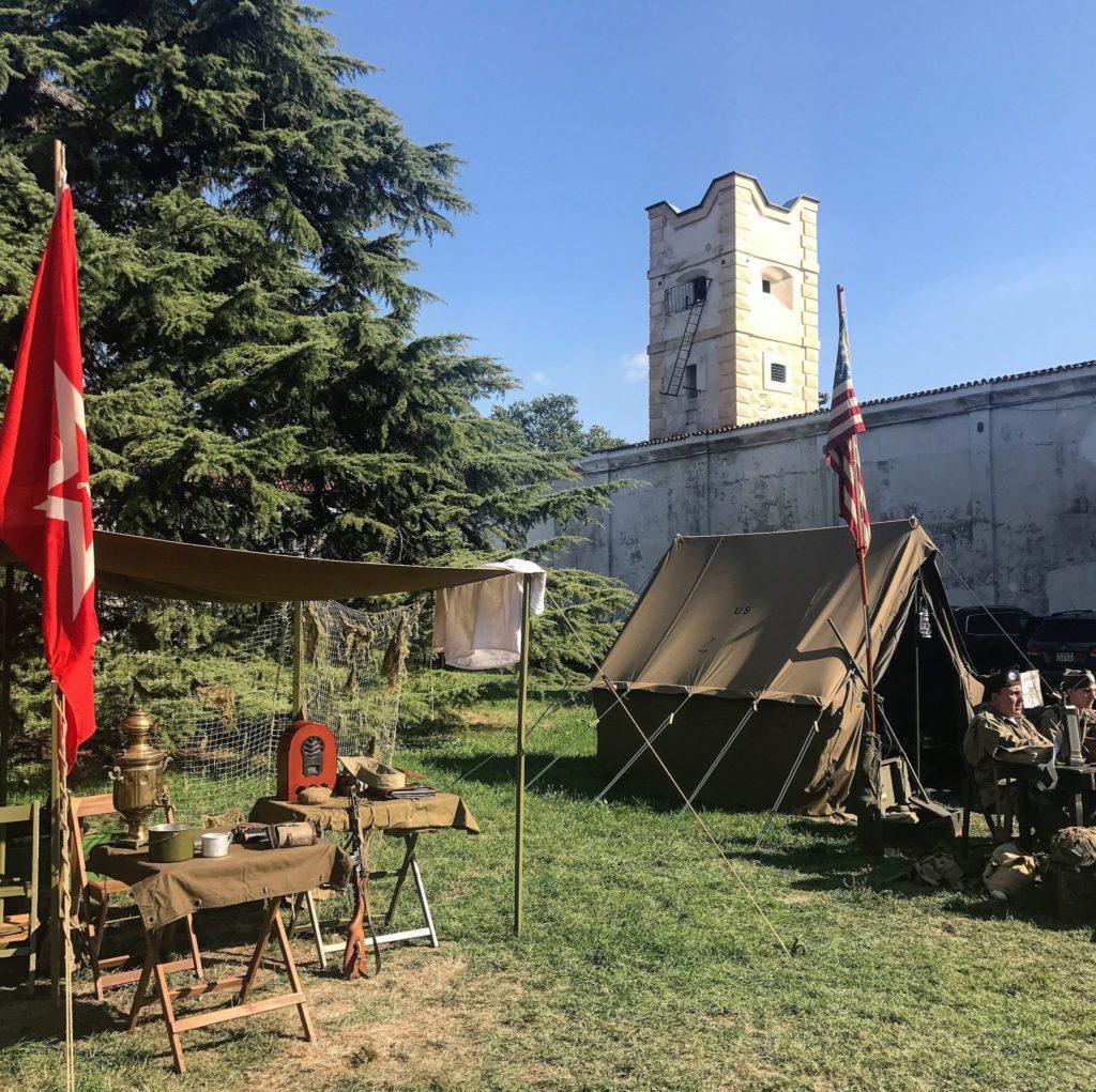 ricostruzione storica a villa arconati