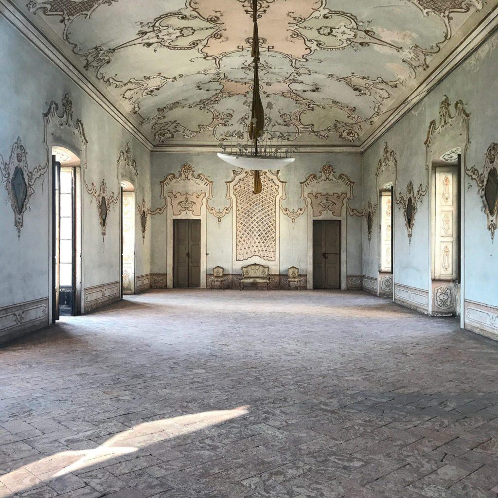 sala da ballo a villa arconati