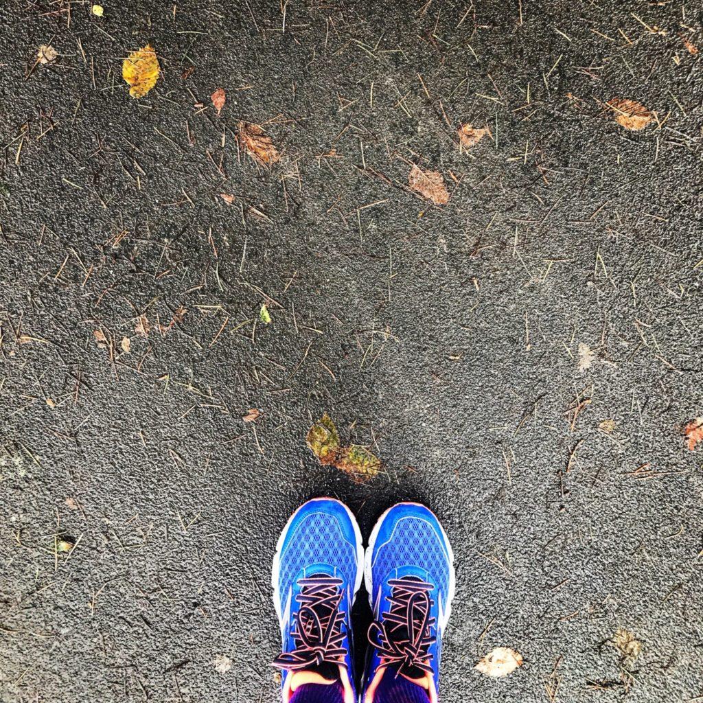 io corro da sola sempre
