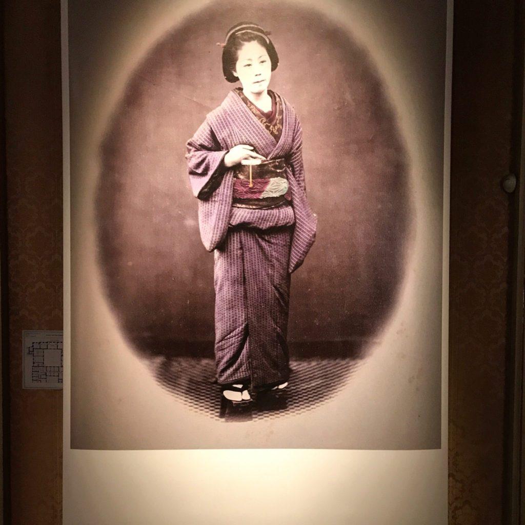 anziana giapponese tra le mostre gratis milano