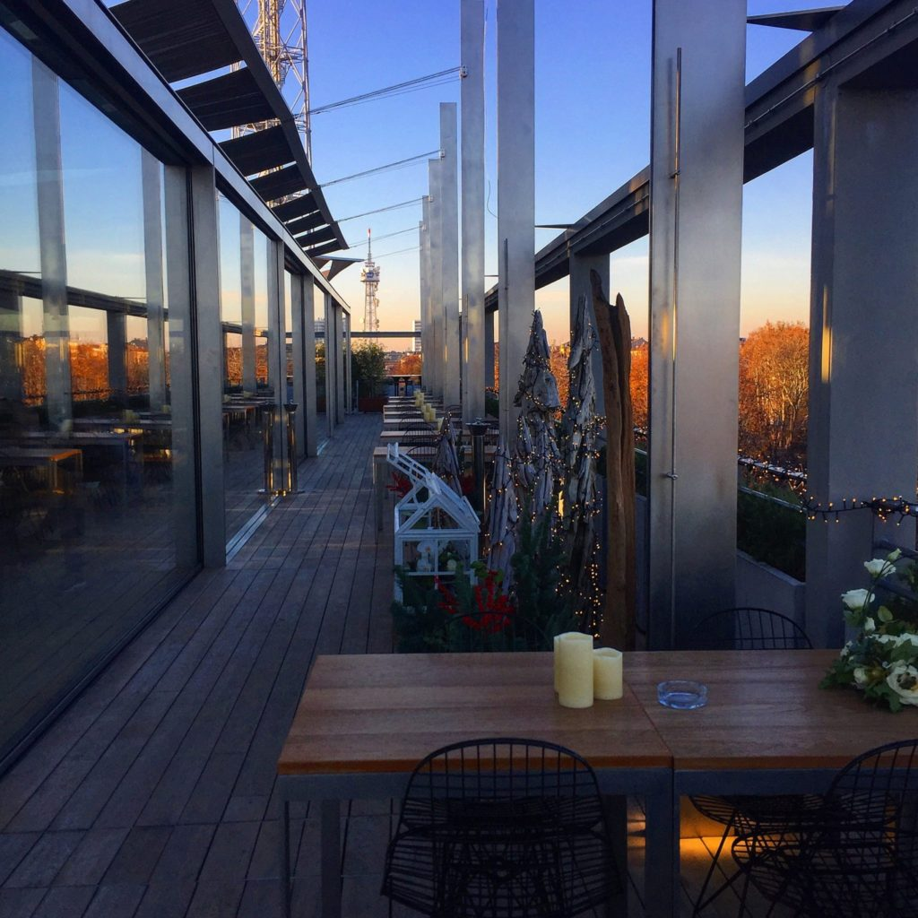 terrazza triennale tra le caffetterie musei milano