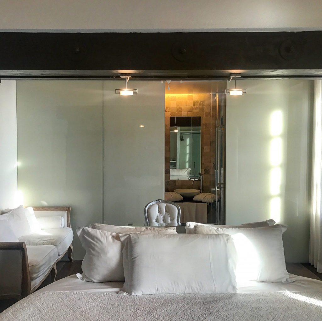 la camera per dormire al faro di capospartivento