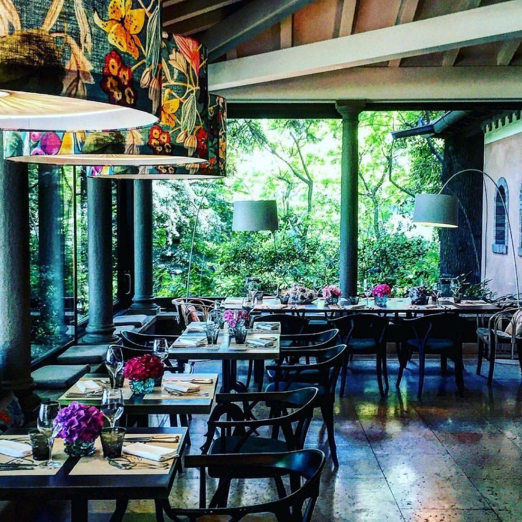 ristorante vista lago al resort franciacorta albereta