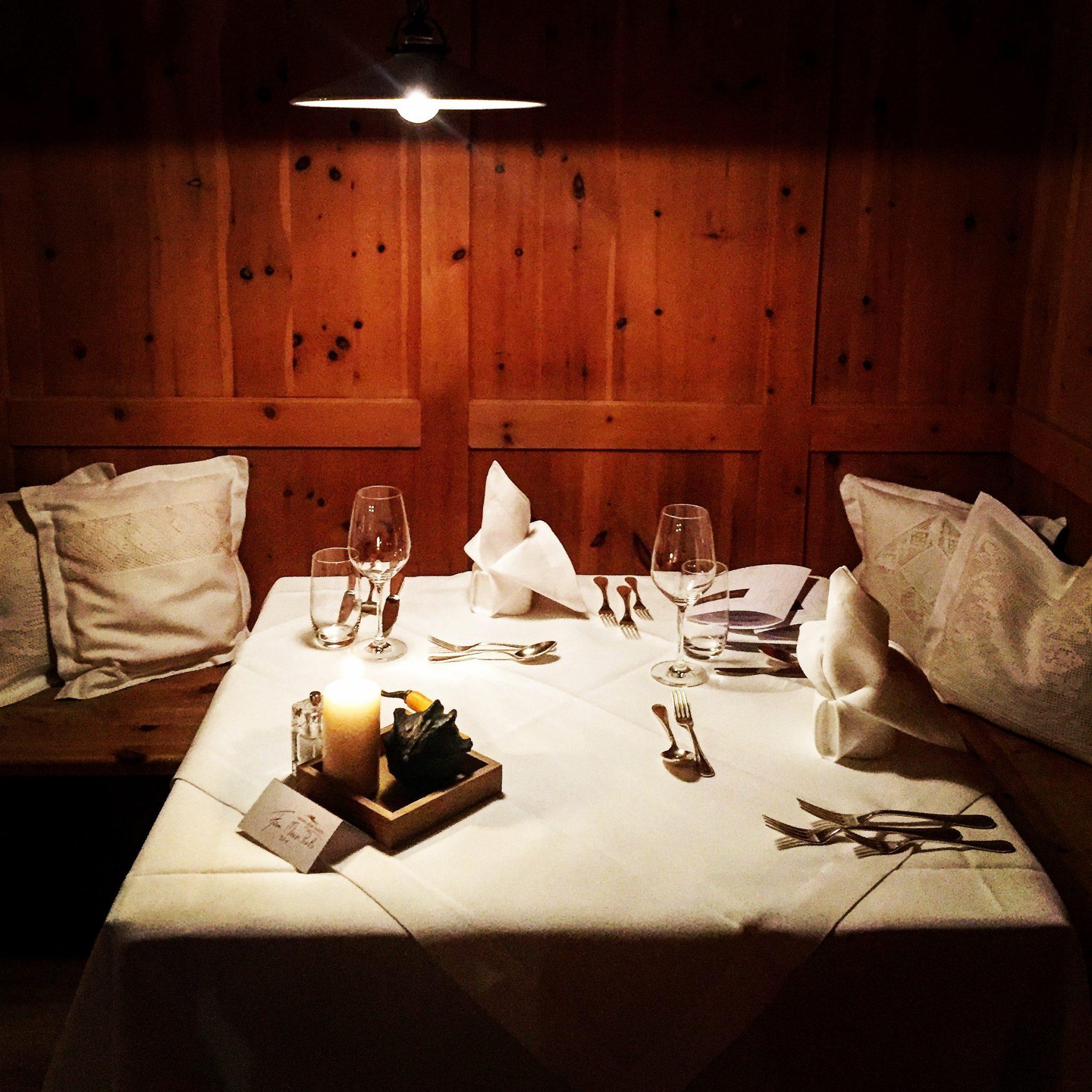 ristorante dll'albergo alpe siusi