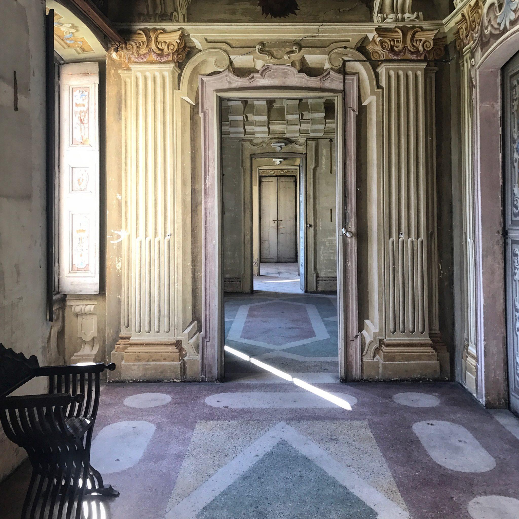corridoio a villa arconati