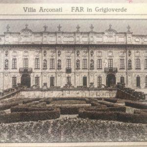 fotografia antica di villa arconati