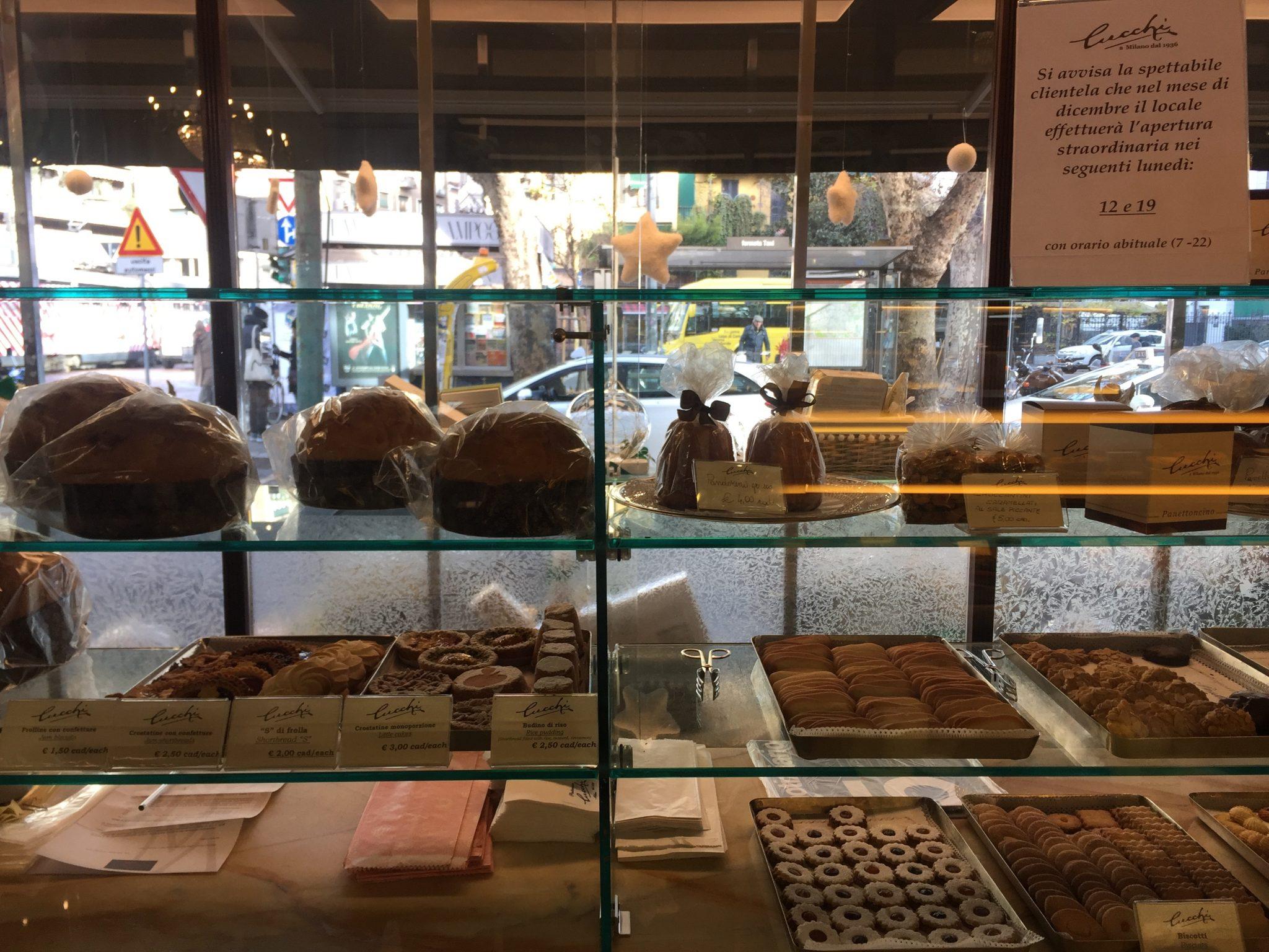 Cucchi tra le pasticcerie a milano dove comprare chiacchiere e tortelli