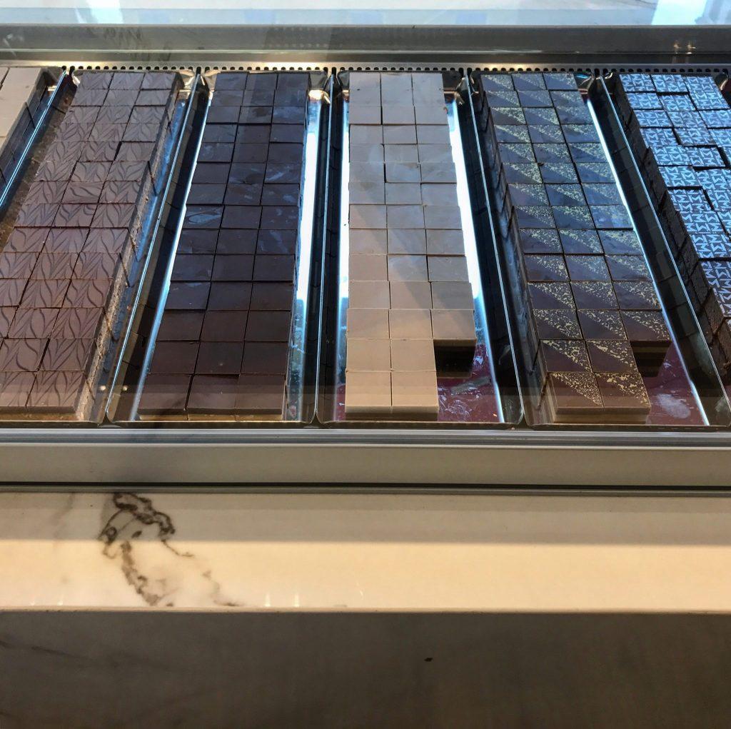 cioccolatini alla pasticceria di massari a milano