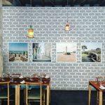 la sala del ristorante a milano 28 posti