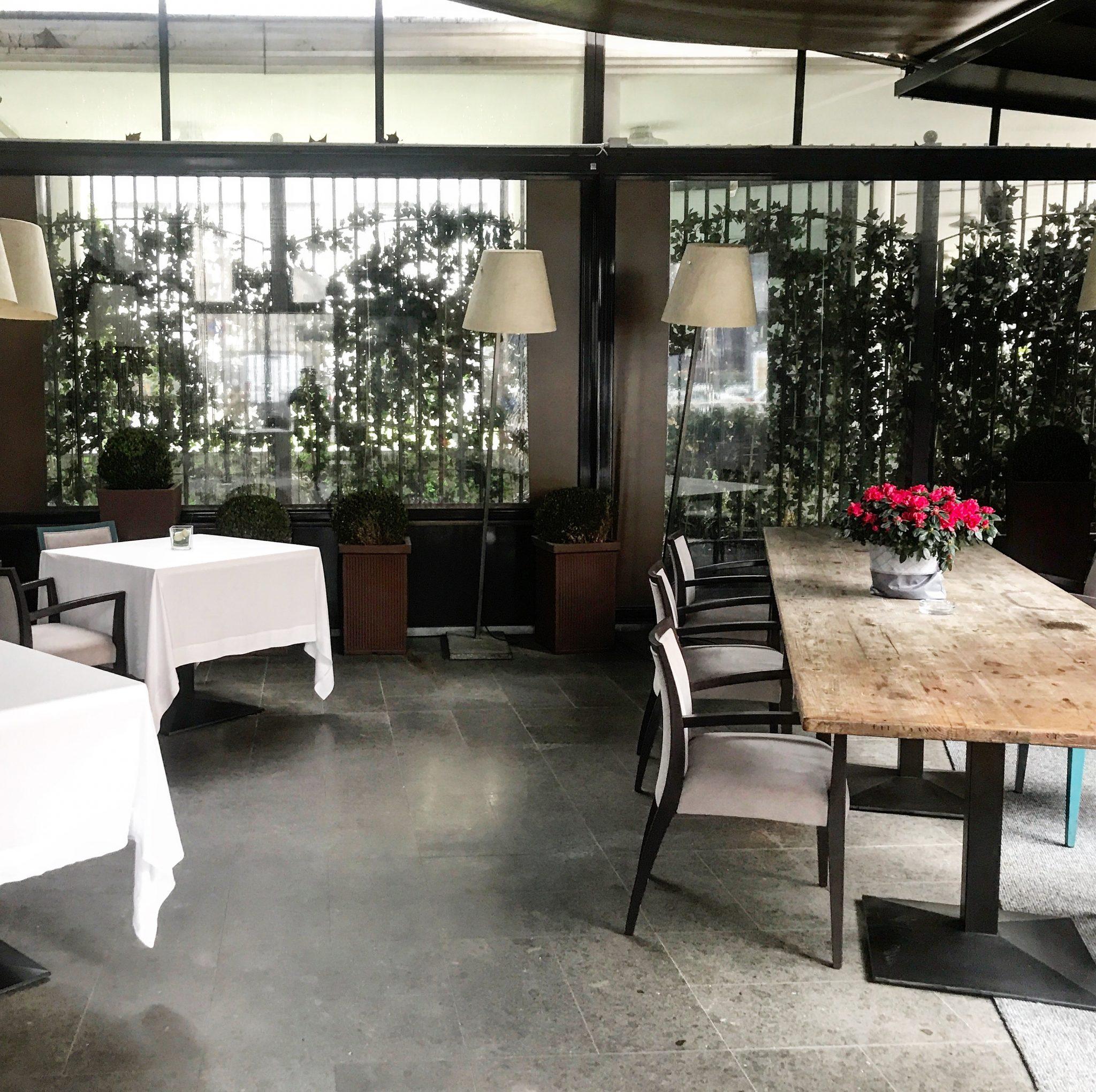 esterno del ristorante tre cristi a milano
