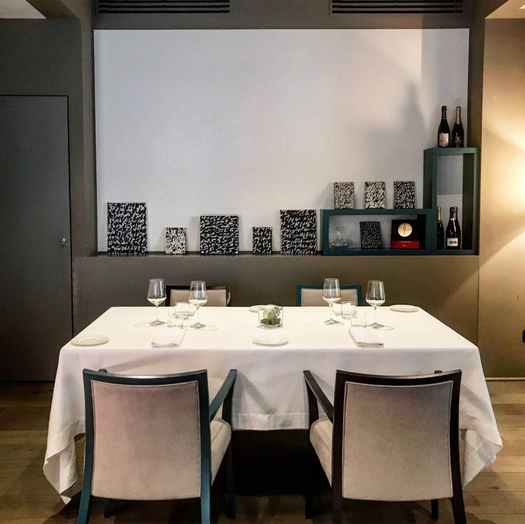 la sala del ristorante tre cristi di milano