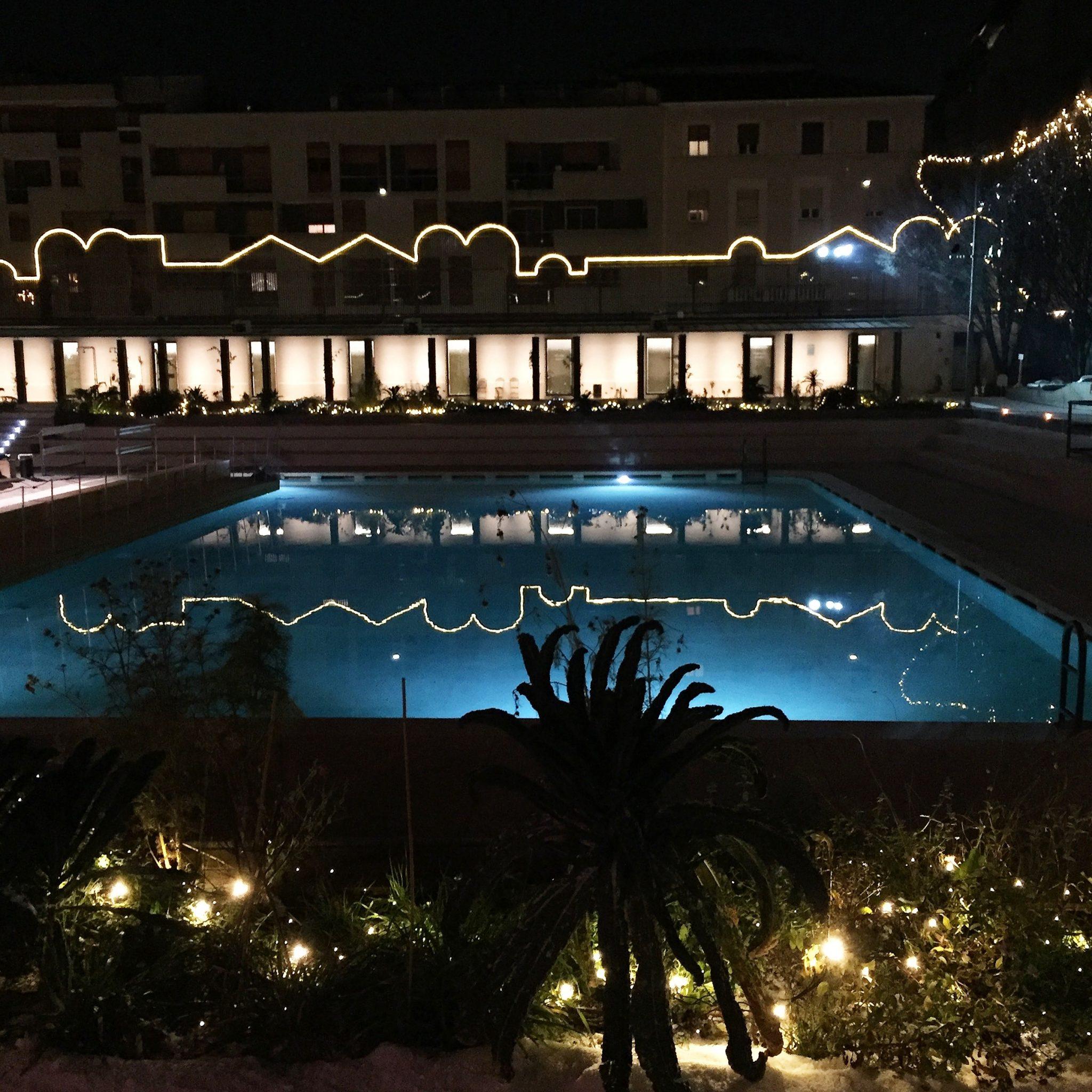 vista dei bagni misteriosi a milano