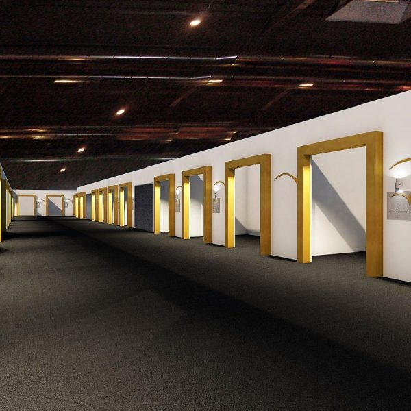 spazio espositivo di Gotha Parma 2018