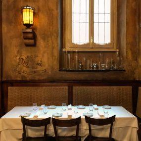 il tavolone alla taverna moriggi a milano